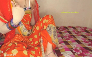 Indian aunty in saree has hardcore sex with juvenile boy