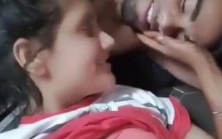 Desi girlfriend loving with boyfriend