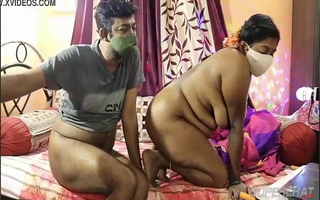 Desi married couple on webcam