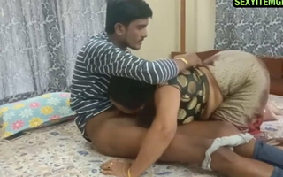 Indian Aunty and young suppliant 720p