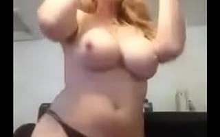 BBW girlfriend strip and fuck