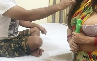 Indian Maid Drilled Away from Eye dialect guv'nor Be beneficial to Money - Hot POV Pornography