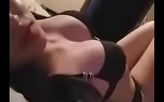 Brunette Chaffing All over Underwears