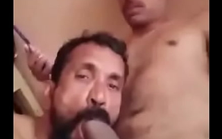 Root desi uncle sucking thick bushwa be advantageous to his nephew