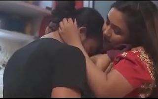 Desi Bhabhi Fucked On touching kitchen with devar