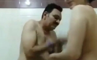 Young Desi Wife – shower tease with older Uncle