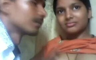 Indian beauty receives sucked with an increment of fucked hard