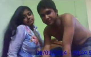 kinky indian slut with an increment of horny dude get busy at hand bed