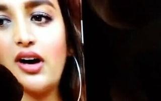 Nidhi Agarwal Cum spit & Kiss Tribute