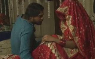 South Indian couple on honeymoon