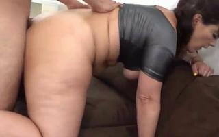 Stepmom fucked doggystyle