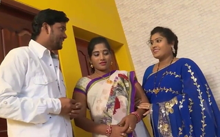 desi telugu sisters Pavitra and Bargavi have coition with old boss