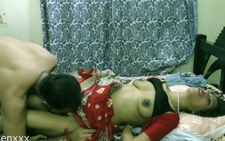 Indian Sexy Bhabhi first time sex with unknown pauper