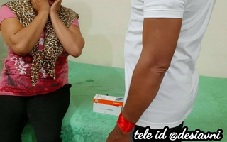 Desi Poonam caught after theft and punished by guard, roleplay