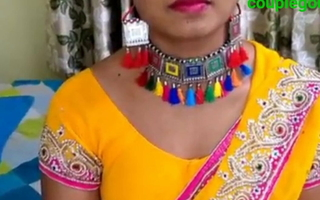 Yellow saree blouse petticoat