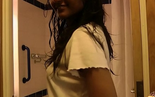 Indian Teen Divya Shaking Hot Ass In Shower