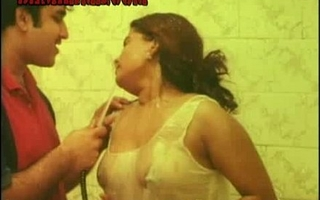 Mallu Kumtaz - shower fuck