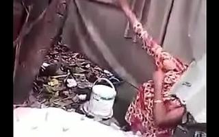 desi bengali muslim venture aunty bathing caprured by voyeur mms