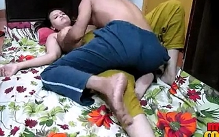 Sonia delhi desi teen bracket doing some extra wonted job