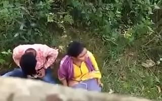 Indian couple putrefacient on hidden camera