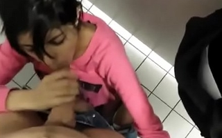 Indian teen fucked in toilet by bf