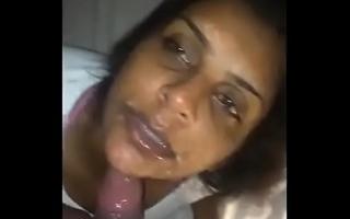 Indian Bhabhi Sexy Blow job (POV)