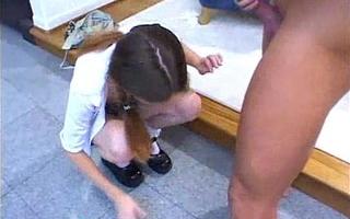 Schoolgirl designing period delight