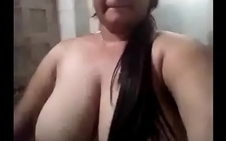 Desi Lord it over Girl Nude Selfie Hot Flick