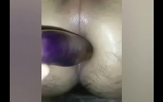 Desi indian homemade well-pleased anal broad in the beam  sex gewgaw appreciation fingering showing gaand ched