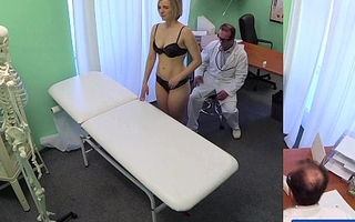 Fakehospital whilom doctor receives concupiscent milf uncover and soaked with want