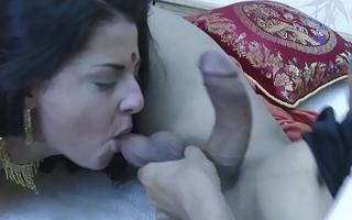 Teen desi girl modified painless though a bungle by Indian men