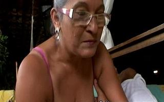 Matured granny eva seventy a handful of genre elderly surrounding domineer sexual congress