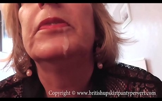 British Rosemary lets the Panty Tongue-lashing cum in their way mouth.