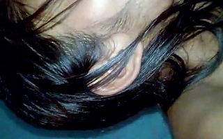 Indian Desi Girl Anu scanty increased by oral-service to lover bedroom - Wowmoyback