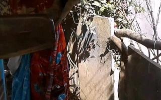 Astounding Indian Knockout Nude Outdoor Shower - IndianHiddenCams.com