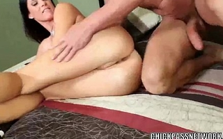 Grown up hottie India Summer takes a cock not far from her wet twat