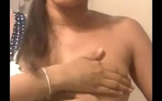 Sexy Indian desi Big boobs -Amaya squeezing boobs