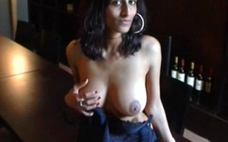 Indian girl amrita showing boobs for money in USA