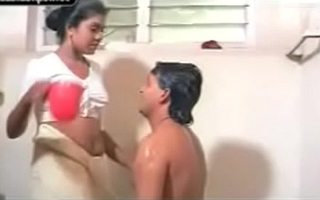 Mallu couple sexual relations bathroom