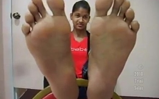 Size 9 Indian girl soles