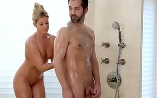 India Summer hot blowjob