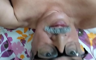 74 years indian cur' hard dick waxen cum