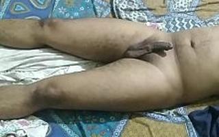 Indian urchin sleeping naked