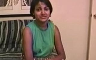 Indian unconversant with vintage porno sucks cock