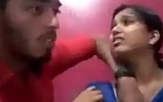 Indian College students boobs show hot video