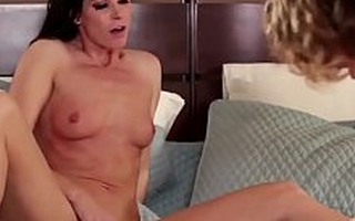India Summer Masturbates to Young Couple Screwing