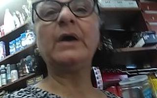 Indian Breast-milk granny Boobs