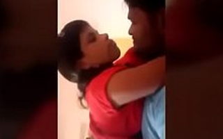 Indian school girl fuck wits her cram