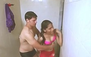 Hot Indian bhabhi in the shower