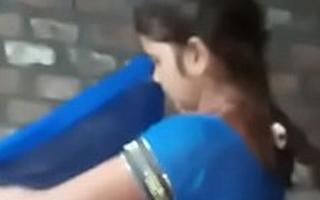 I Fuck My Desi Bhabhi's Hot And Paintbrush Unvarnished Pussy